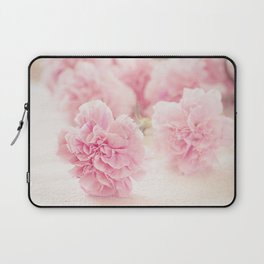 Pale Pink Carnations 2 Laptop Sleeve