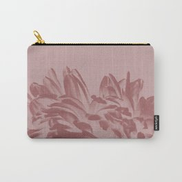 Dusty Pink Positive Negative Carry-All Pouch
