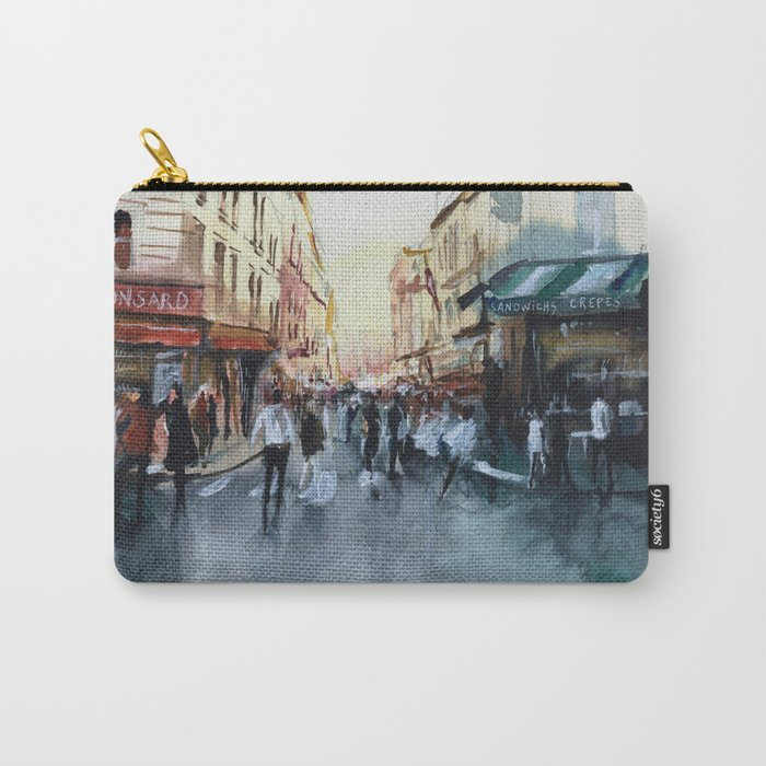 PARIS Street - Painting Carry-All Pouch