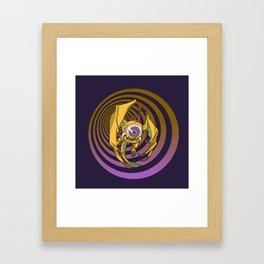 Lvl 5 Death Framed Art Print