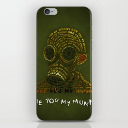 Are You My Mummy? iPhone Skin