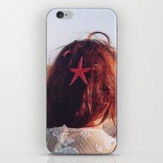 seaside girl iPhone & iPod Skin