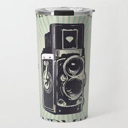 Camera Vintage Travel Mug