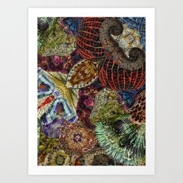 Psychedelic Botanical 7 Art Print
