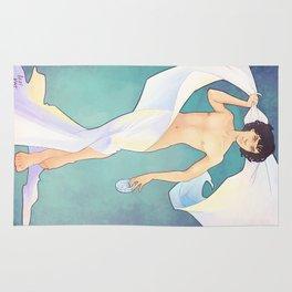 Sherlock in a Sheet Rug
