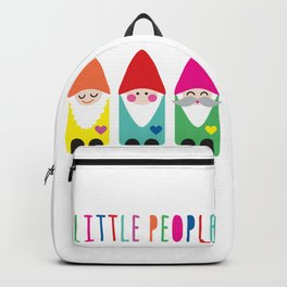 Gnomes Are Little People. Backpack