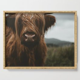 Scottish Highland Cattle Serving Tray