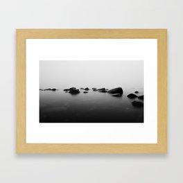 Sea Meets Sky Framed Art Print