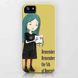 5th of November iPhone Case
