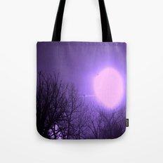 amethyst sky Tote Bag