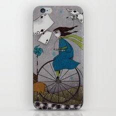 I Follow the Wind iPhone Skin