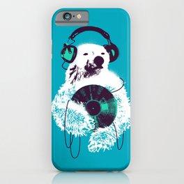 Record Bear iPhone Case
