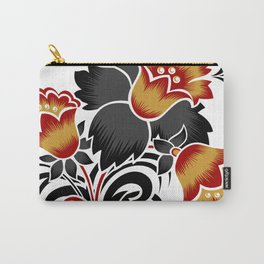 Abstract flowers decoration Carry-All Pouch
