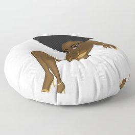 Girl 03 Floor Pillow