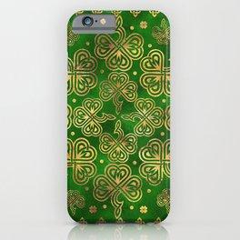 Shamrock Clover Ornament iPhone Case