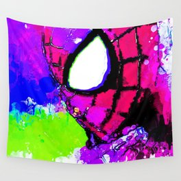 A Spidery Man Wall Tapestry