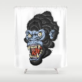 Gorilla Shower Curtain