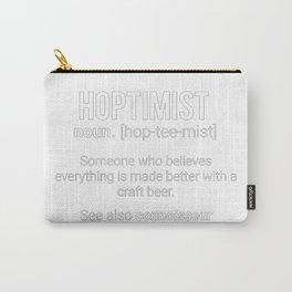 Hoptimist Noun Definition Carry-All Pouch