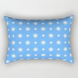 stars 97- blue Rectangular Pillow