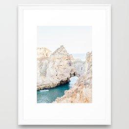 Algarve Cliffs Framed Art Print