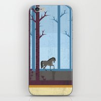 woods iPhone & iPod Skins featuring Woods by Kakel