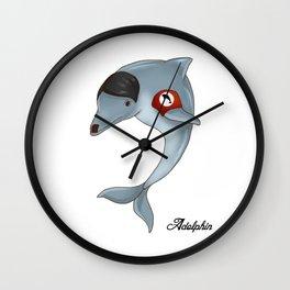 Adolphin  Wall Clock