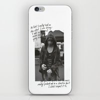 all time low iPhone & iPod Skins featuring Alex Gaskarth - All Time Low by amy.