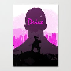 Drive – Movie Poster Canvas Print