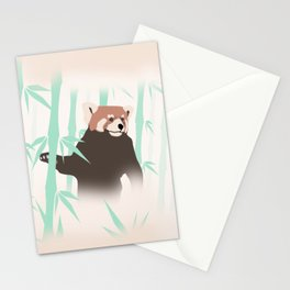 Smag the Red Panda Stationery Cards