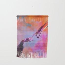 La Création d'Adam - Dorian Legret x AEFORIA Wall Hanging