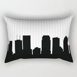 Tampa Skyline Rectangular Pillow