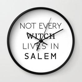 Not from Salem Wall Clock