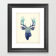 El Venado Azul Framed Art Print