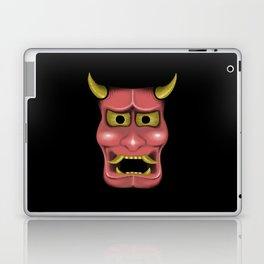 Hannya Mask Laptop & iPad Skin