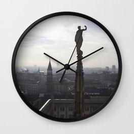 The Sentinels of Milan Wall Clock