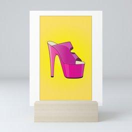 The Stunner High-Heel Stiletto Mini Art Print