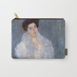 "Gustav Klimt ""Portrait de Hermine Gallia"" Carry-All Pouch"