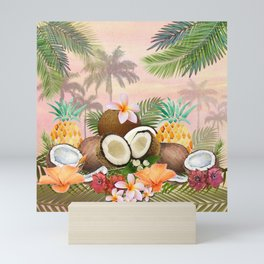 Hawaian Coconut Delight Mini Art Print