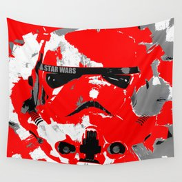 Blood Storm Wall Tapestry