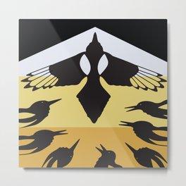 American Native Pattern No. 193 Metal Print