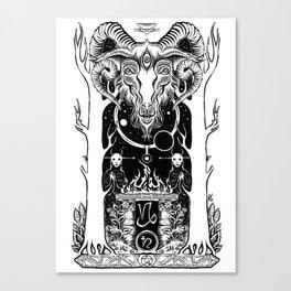 Ritual of Capricorn Canvas Print