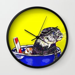 Otter Pop - Fur Sweets Series Wall Clock