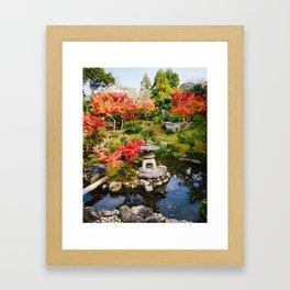 Yoshiki-en Japanese Garden Fine Art Print Framed Art Print