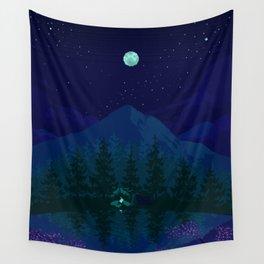 Camping Wall Tapestry