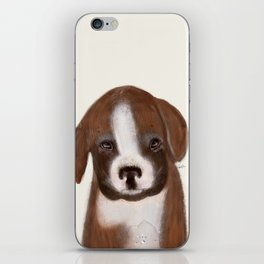 little boxer iPhone Skin