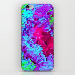 Dayglow Parrot iPhone Skin