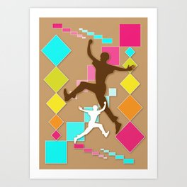 Jump Art Print