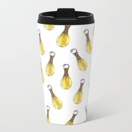 J'adore L'or Metal Travel Mug