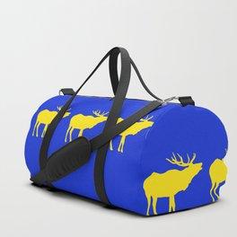 Graphic Swedish Elk Flag III Duffle Bag