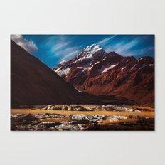 South Island Glacier Canvas Print